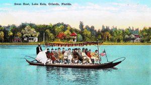 Swan Boat Lake Eola
