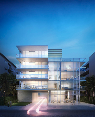 Luxury Condo Finishes Construction In South Beach