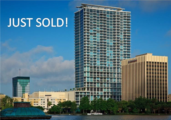 Just Sold 2 Bedroom Condo at The Vue at Lake Eola