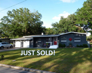 Just Sold Mid-Century Ranch Home in Orlando!
