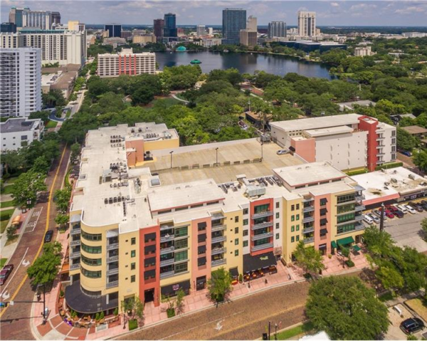 Thornton Park Central Condo Building in Downtown Orlando