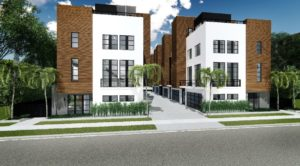 Luxury Townhomes Coming to Downtown Orlando's North Quarter District