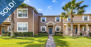 Just Sold 3 Bedroom Townhome in Winter Garden