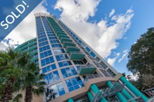 Just Sold 2 Bedroom Condo at The Waverly in Downtown Orlando