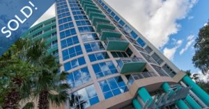 Just Sold 2 Bedroom Condo at The Waverly on Lake Eola