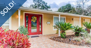 Just Sold 3 Bedroom Pool Home in Winter Park!