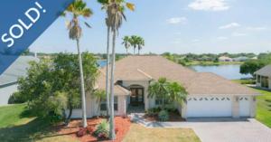 Just Sold 4 Bedroom Lakefront Home in Hunters Creek
