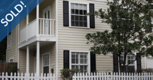 Just Sold 3 Bedroom Townhome in Colonialtown