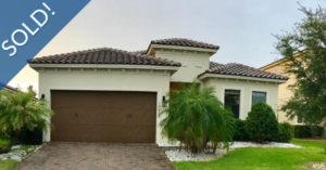 Just Sold 3 Bedroom Home in Lake Nona