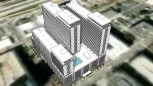 Trio of Downtown Orlando Apartment Towers in the Works