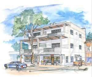 Mixed-Use Building Proposed for Lot in Thornton Park
