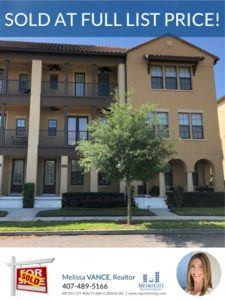 Just Sold 3 Bedroom Townhome in Baldwin Park