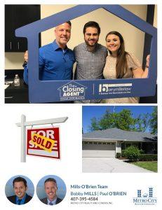 Just Sold 3 Bedroom Single Family Home in Apopka