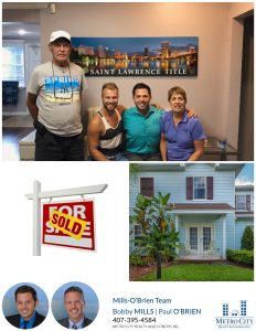 Just Sold 4 Bedroom Townhouse in Kissimmee!
