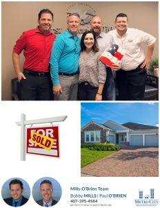 Just Sold 4 Bedroom Winter Garden Home in Hickory Hammock