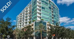 Just Sold 1 Bedroom Condo at 101 Eola