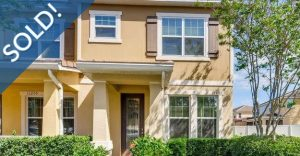 Just Sold 3 Bedroom Townhome in Windermere
