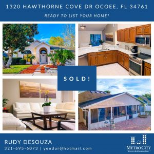 Just Sold 4 Bedroom Home in Ocoee