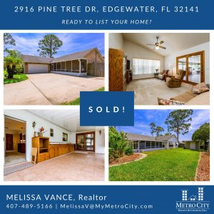 Just Sold 3 Bedroom Home in Edgewater