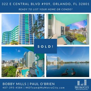 Just Sold 1 Bedroom Condo at The Waverly