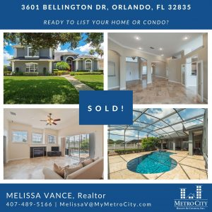 Just Sold 5 Bedroom Pool Home in Dr. Phillips
