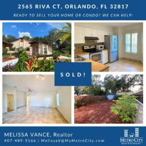 Just Sold 3 Bedroom Home in East Orlando