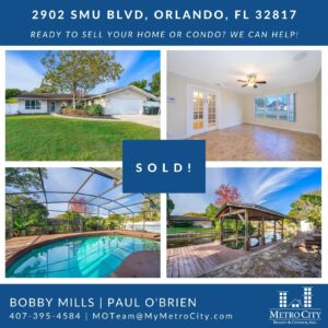 Just Sold 4 Bedroom East Orlando FL Pool Home