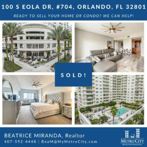 Just Sold 1 Bedroom Condo at The Sanctuary Downtown