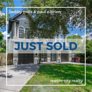 Just Sold 3 Bedroom Townhouse in East Central Park