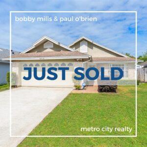 Just Sold 3 Bedroom Home in West Orlando FL