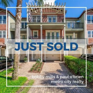 Just Sold 4 Bedroom Townhouse in East Central Park